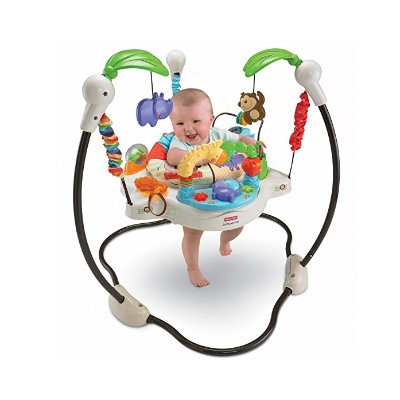 Rent this jumperoo while on holiday in bermuda from little longtails