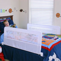 rent 2 bed rails from Little Longtails to keep your little ones safe at night